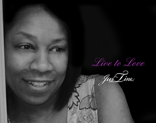 CD Cover Image Jus'Tina Live To Love
